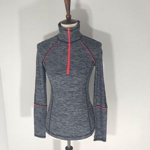 Z by Zella long sleeves pullover  Gray and red